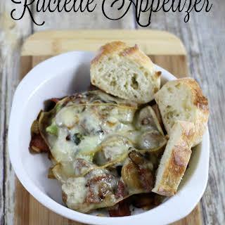 Raclette Appetizer.