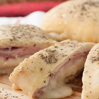 Ham and Cheese Stromboli.