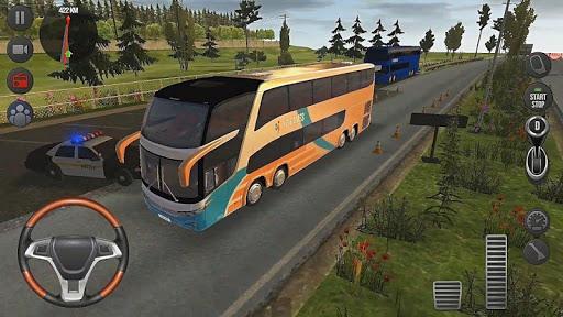 Modern Offroad Uphill Bus Simulator apkpoly screenshots 17