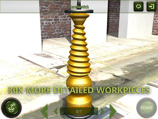 Lathe Machine 3D: Milling & Turning Simulator Game  screenshots 14