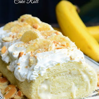 Banana Pudding Cake Roll