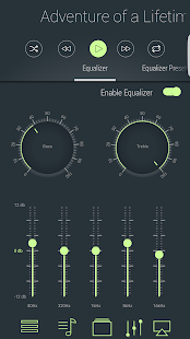 LiquidPlayer Pro - music,equalizer,mp3,radio,3D Screenshot