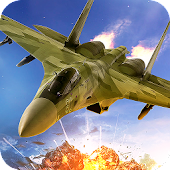 Jet Fighter Air Attack 3D Game Fly F18 Flight Free