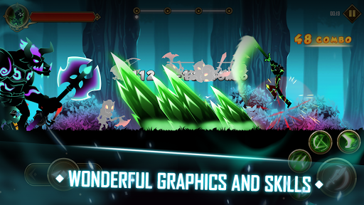Stickman Shadow Fight Heroes : Legends Stick War  captures d'u00e9cran 1