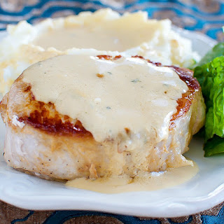 BEST Pork Chops with Creamy Pan Gravy