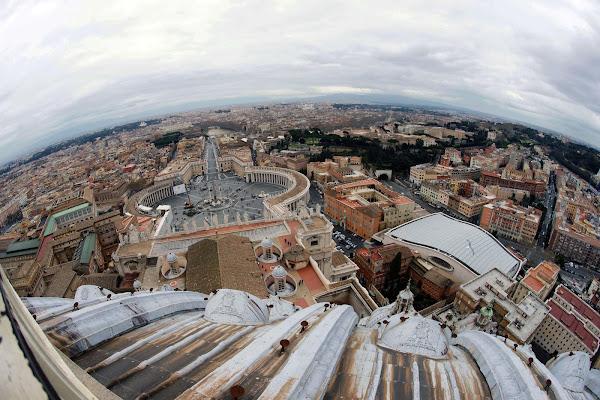 Roma Vista Dalla Cupola Di San Pietro di cesare carusio