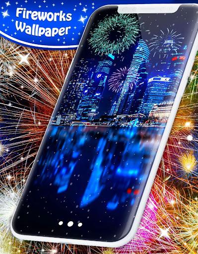 New Years 2019 Fireworks Live Wallpaper 4.8.4 screenshots 5