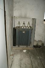 Photo: alter Trafo im Turm