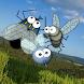 Flies, fly away!