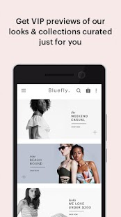 Bluefly- screenshot thumbnail