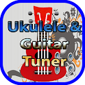ukulele tuner and guitar tuner icon
