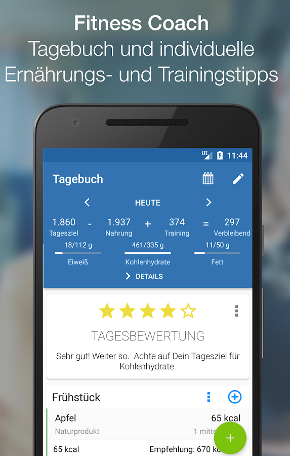 wikifit – FitnessCoach, Calorie Counter & Training- screenshot