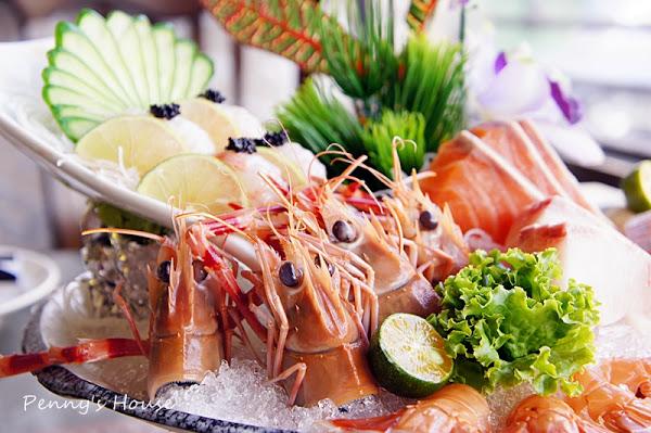 東街日本料理 - 冬季限量大明蝦火鍋 雙人 $329,生意非常好~ 還有超厚新鮮生魚片!(附菜單)