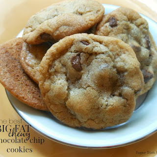The Best Big Fat Chewy Chocolate Chip Cookies