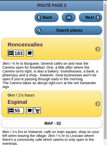 Camino de Santiago Guide- screenshot