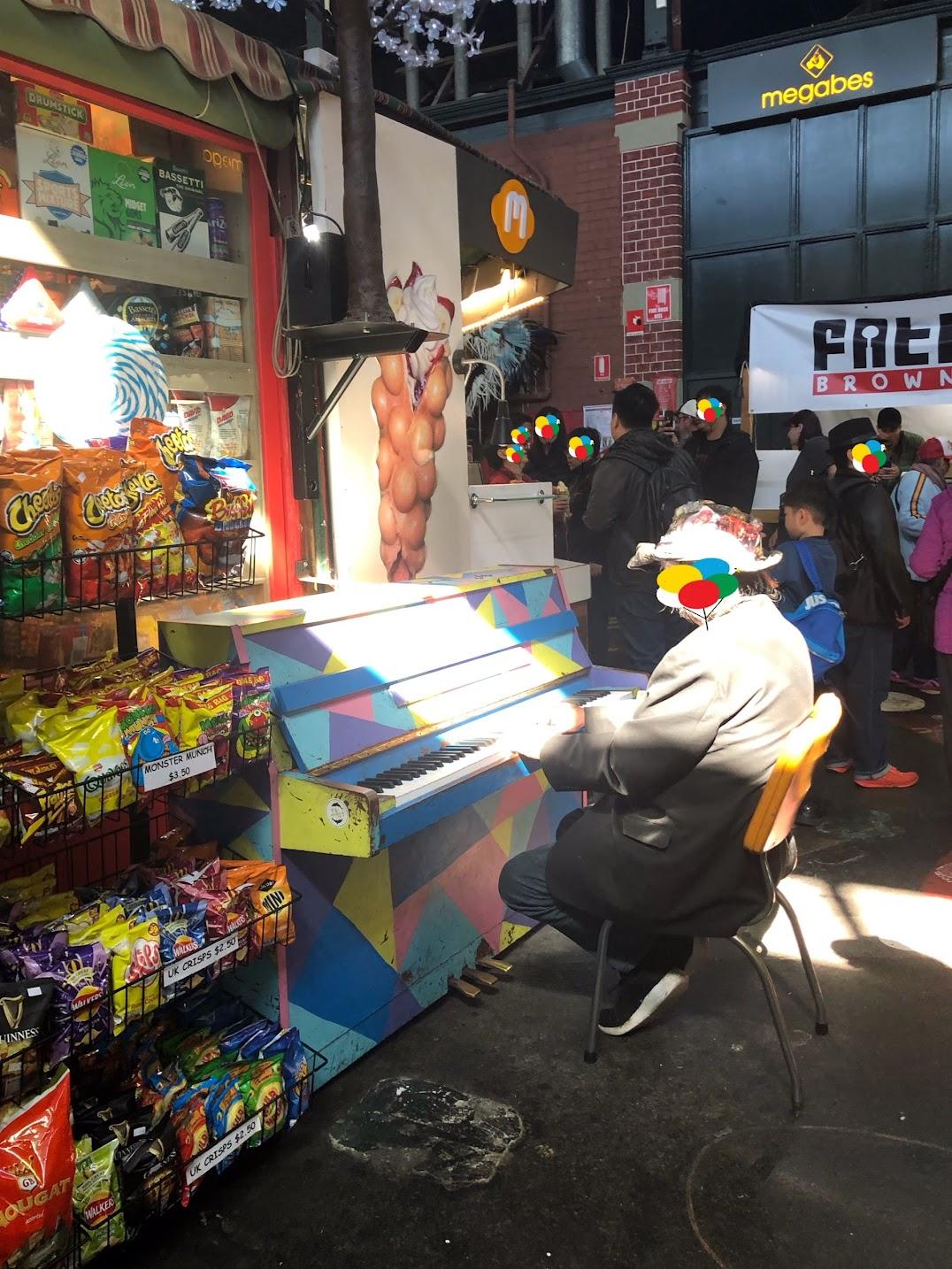 フリーマントルマーケットピアノ