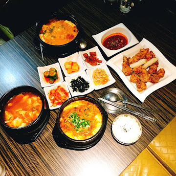 阿啾喜韓國豆腐煲
