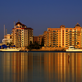 Sarasota Bay Front  by Jeremy Barton - Buildings & Architecture Office Buildings & Hotels ( florida, usa, sarasota )