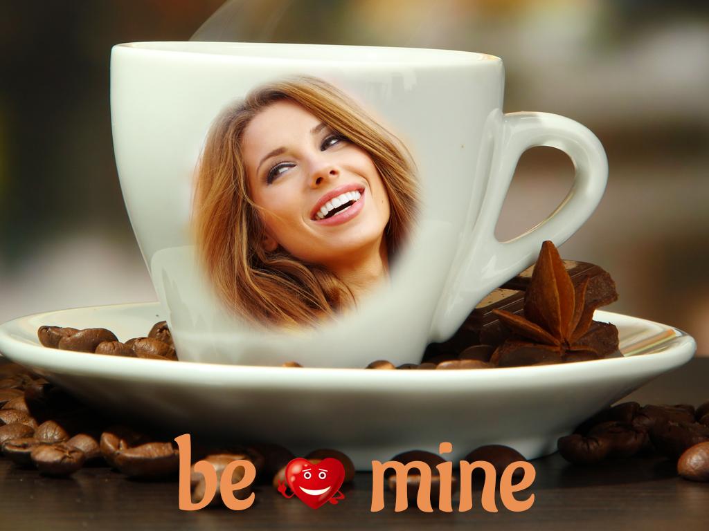 Coffee cup frames - Coffee Mug Photo Frames Screenshot