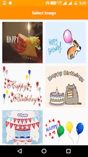 Birthday GIF screenshot