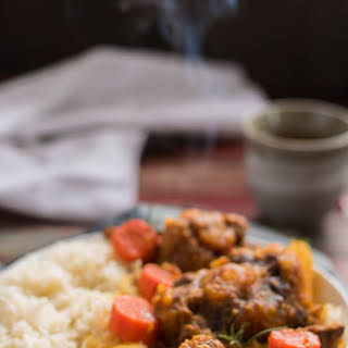 One Pot Jamaican Oxtail Curry Stew.