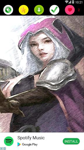 Hero and Skin Mobile Legends Wallpaper  screenshots 2