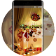 Lock theme for christmas tree night wallpaper Download on Windows