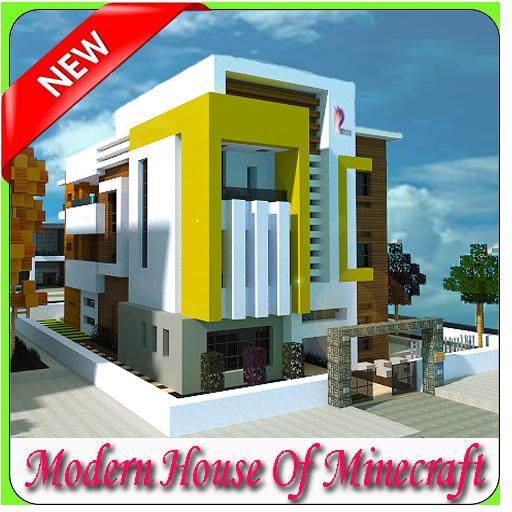 玩免費遊戲APP 下載Modern House Of Minecraft app不用錢 硬是要APP