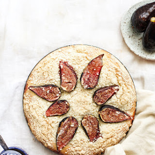 Yeasted Cardamom and Fig Cake Recipe