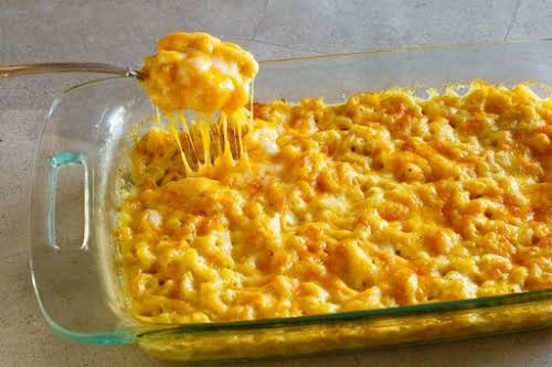 "My Favorite Macaroni and Cheese Casserole""This macaroni and cheese casserole is baked..."