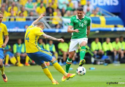 Bondscoaches Ierland en Zweden hebben zorgen door blessures
