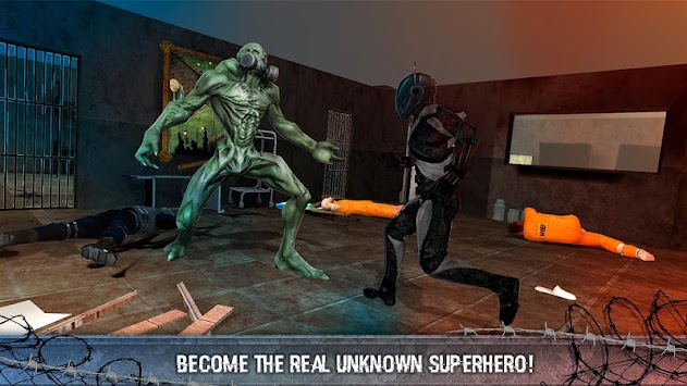 Underworld Superhero City Prison Escape apk screenshot