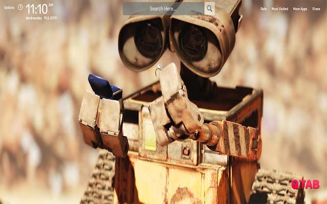 WALL E Movie Wallpapers HD Theme