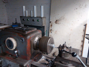 Photo: I´m lucky to have access to a lathe