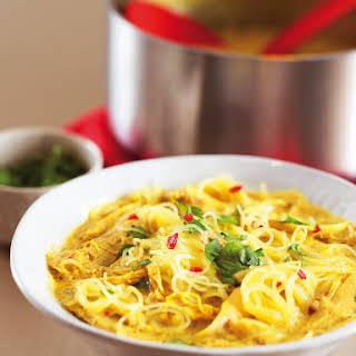 Thai Chicken Noodle Soup.