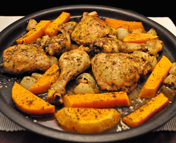 Pan-Cooked Chicken Thighs With Butternut Squash Recipes — Dishmaps