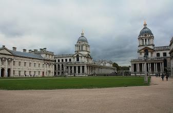 Photo: Greenwich - Old Royal Naval College London  http://www.turistika.cz/cestopisy/londyn-tower-bridge-city-of-london-the-shard-belfast-greenwich-nulty-polednik-a-dalsi