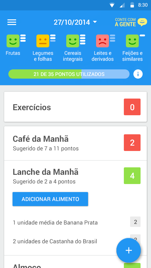 Dieta e Saude - screenshot