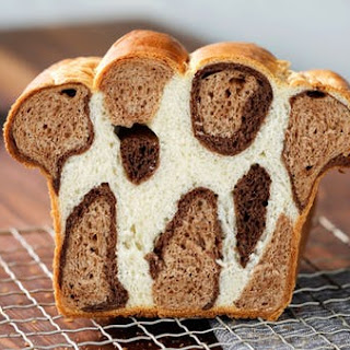 Leopard Print Bread Loaf.