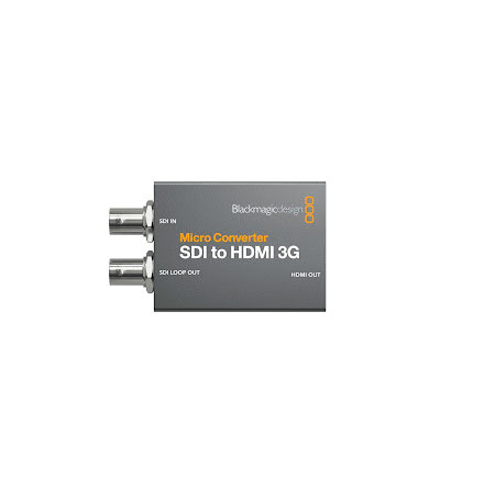 Micro Converter SDI to HDMI 3G (with PSU)