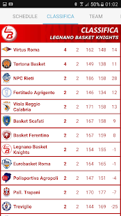 Legnano Basket Knights App- screenshot thumbnail