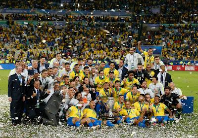 Le Brésil n'a pas tremblé face au Pérou et s'adjuge sa 9e Copa America