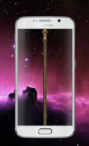 Galaxy Nebula Lock Screen