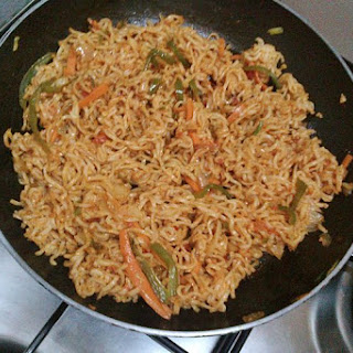 Chatpata Indian Maggi Recipe !