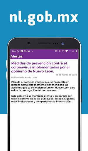 Gobierno de Nuevo León screenshot 4