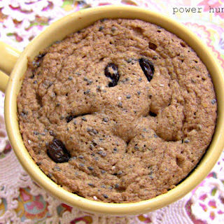 2-Minute All-Flax Muffin in a Mug