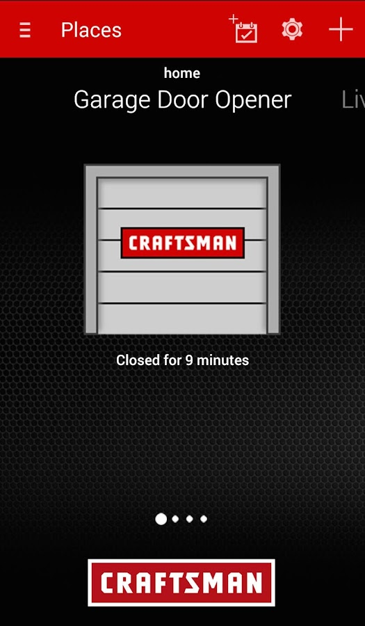 Craftsman Smart Garage Door- screenshot
