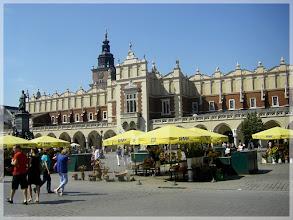 Photo: Plaza del mercado . Cracovia (Polonia) http://www.viajesenfamilia.it/CRACOVIA.htm