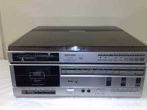 Photo: Sharp VZ-1500 both sides play disc stereo system