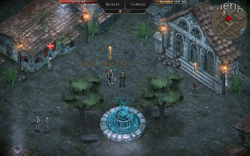 Vampire's Fall: Origins RPG screenshots 5
